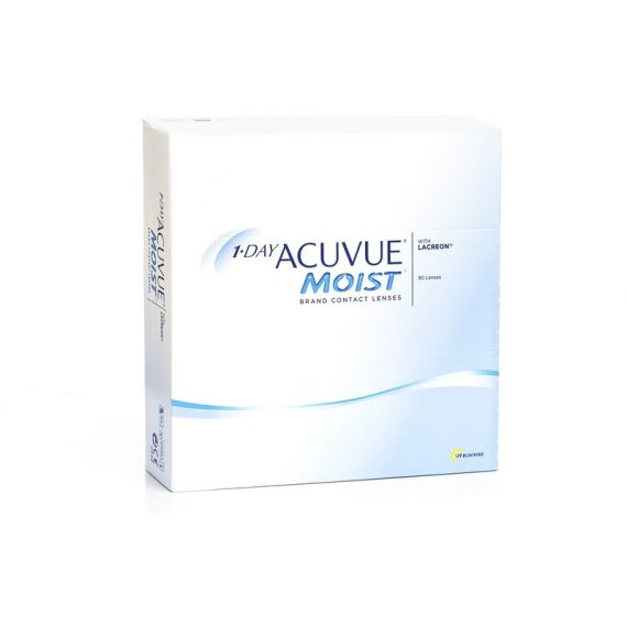 ACUVUE 1 DAY MOIST 90 pcs