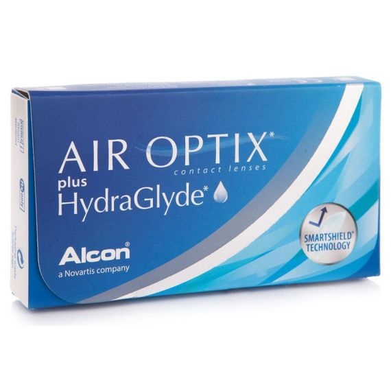 AIR OPTIX PLUS HYDRAGLYDE 3 pcs.
