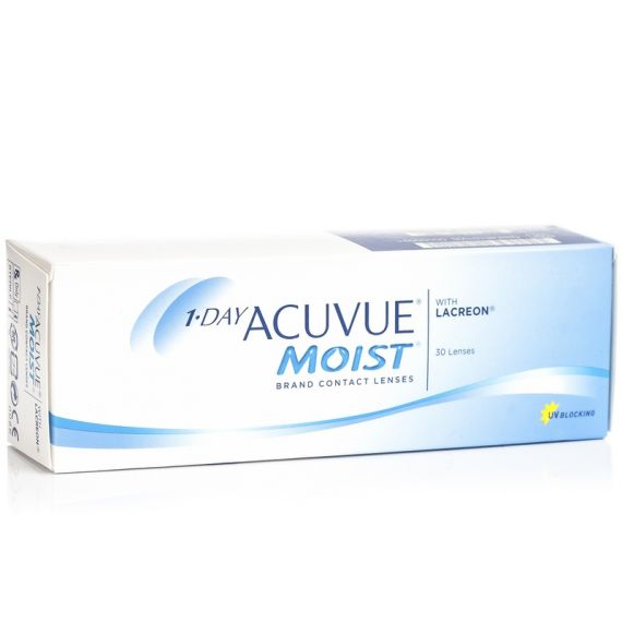 ACUVUE 1 DAY MOIST 30 pcs.