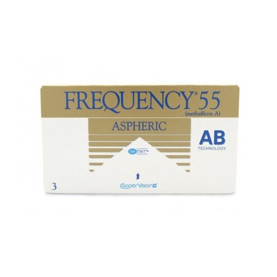 FREQUENCY 55 ASPHERIC 3 pcs.
